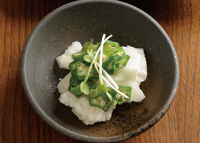 長芋とオクラの和え物