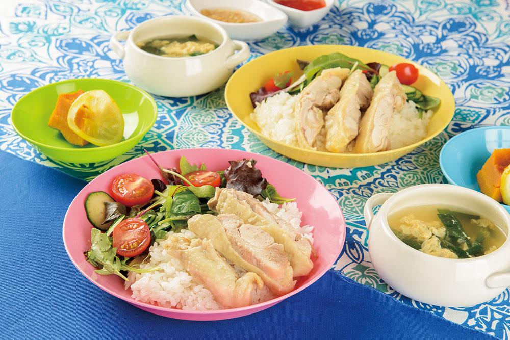 チキン ライス シンガポール